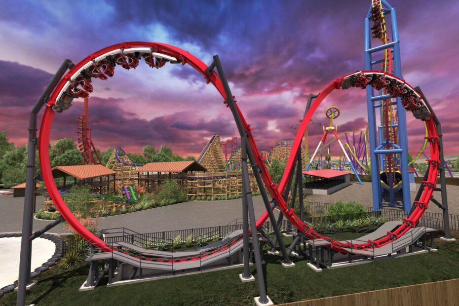 Skyline Attractions Skywarp Six Flags Discovery Kingdom