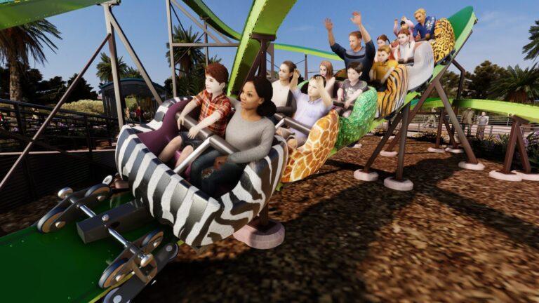 Skyline Attractions P'Sghetti Bowl Zoo Concept